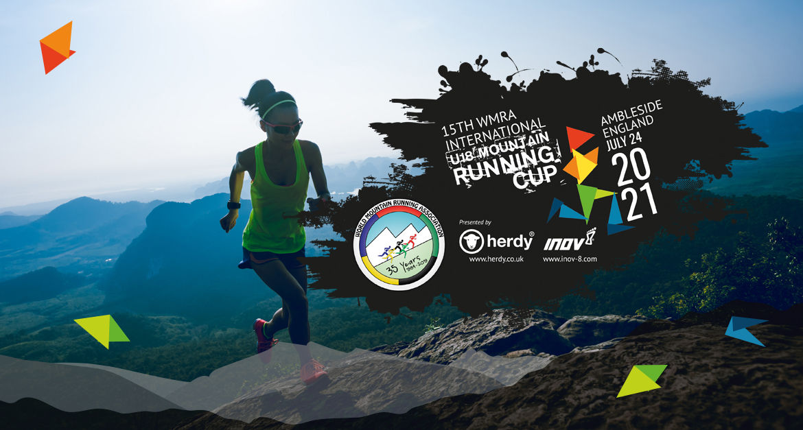 International Mountain Running Youth Cup Ambleside - Logo Design & Illustration